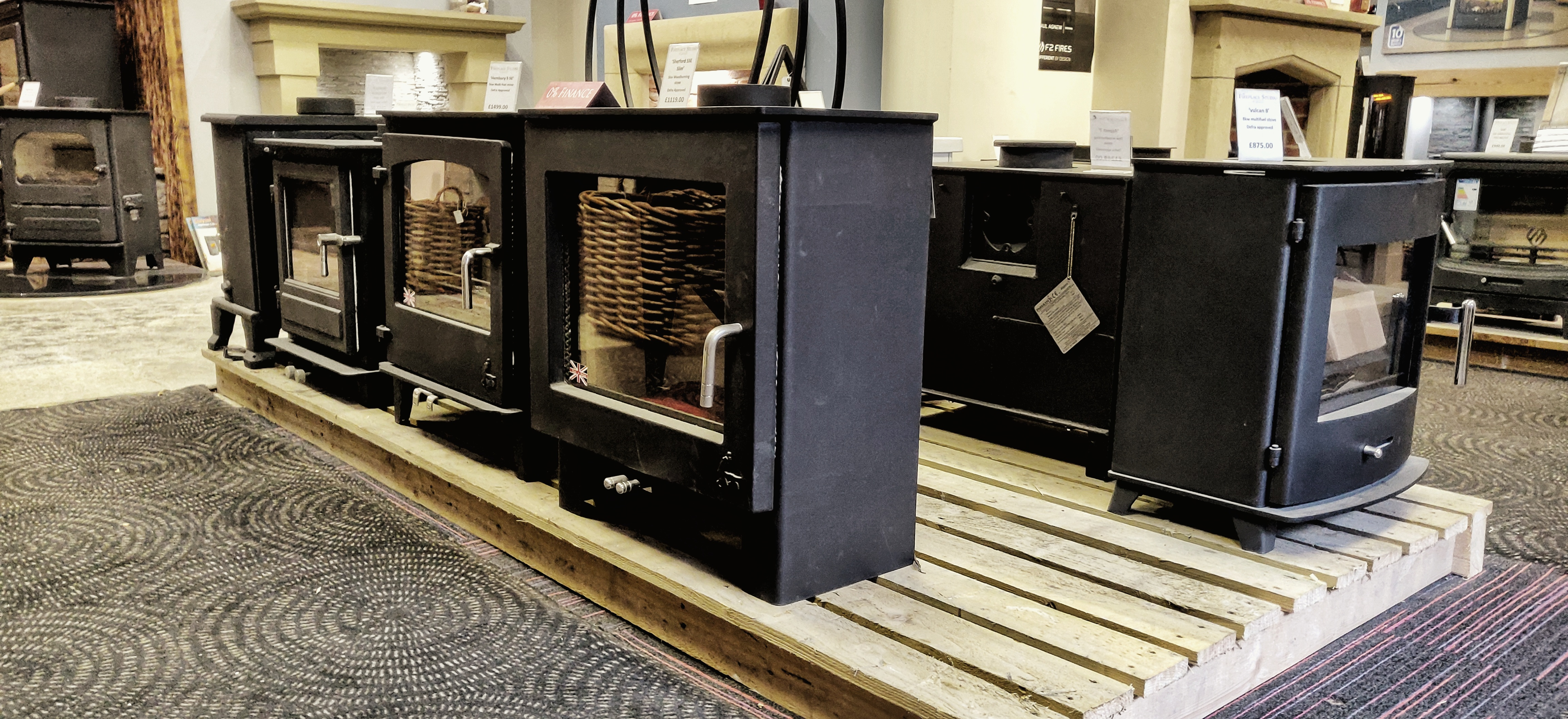 Fireplace Studio Brighouse opens new stove division at the Brighouse Stove Centre