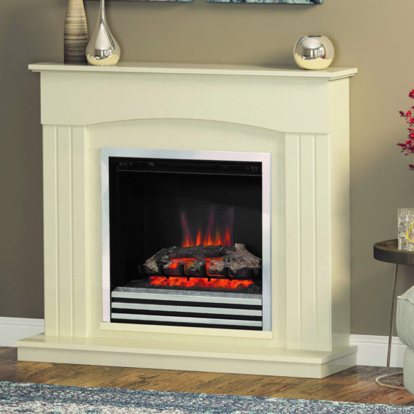 "BE- MODERN 22"" CORETTA ELECTRIC FIREPLACE (AS LINMERE SUITE)"